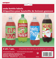 Christmas Pop Bottle Labels (4)